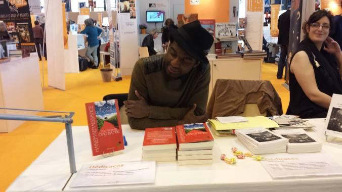 Marc Alexandre Oho Bambé au salon du livre