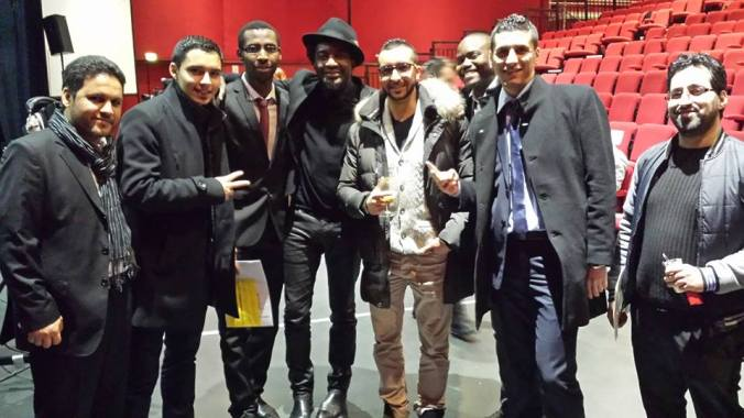 Capitaine Alexandre Anthony Sinjerland et Seddiki Jazz Band