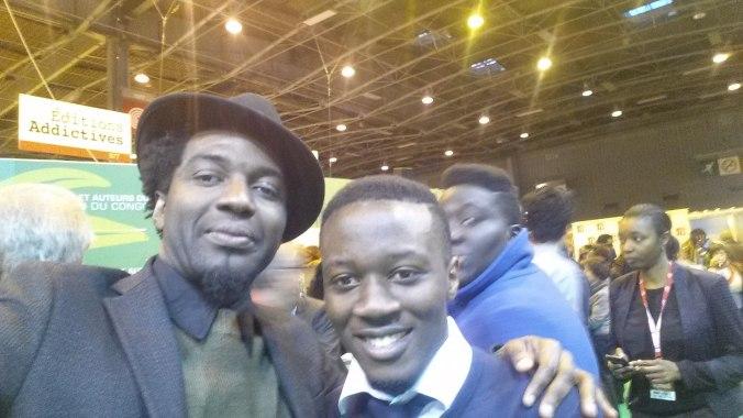 Marc Alexandre Oho Bambé avec Steve-Leo Mekoudja