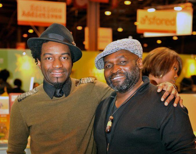 Marc Alexandre Oho Bambé avec Samuel Nja Kwa