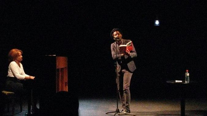Marc Alexandre Oho Bambé et CasanSalon du Livre sur les Quais
