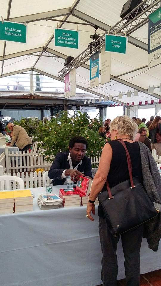 Marc Alexandre Oho Bambé Salon du Livre sur les Quais 1