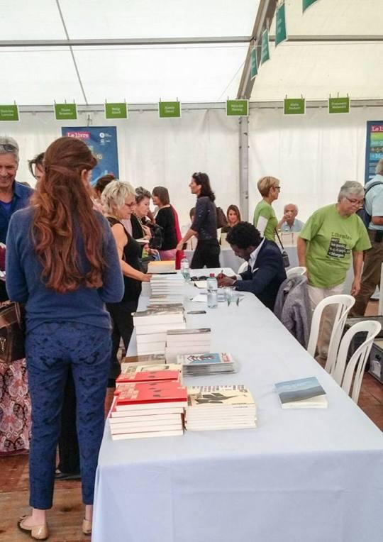 Marc Alexandre Oho Bambé Salon du Livre sur les Quais 7