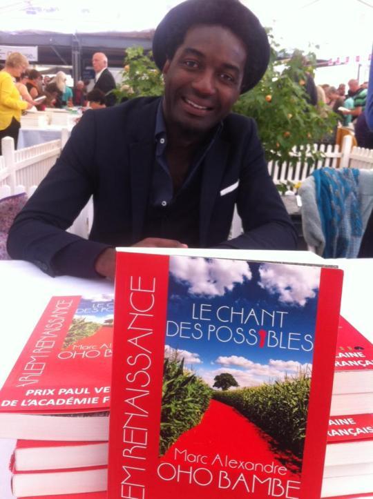 Marc Alexandre Oho Bambé Salon du Livre sur les Quais
