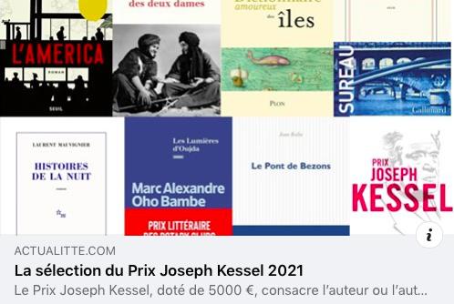 Prix Joseph Kessel